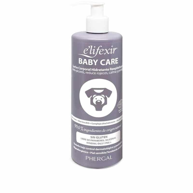leche corporal para bebes baby care elifexir