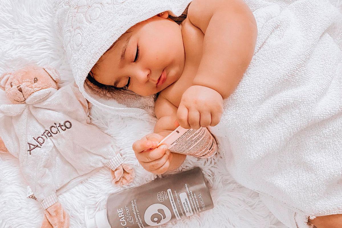 gel champu natural para bebe